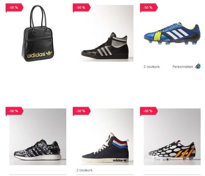 remise supplémentaire sur Outlet Adidas