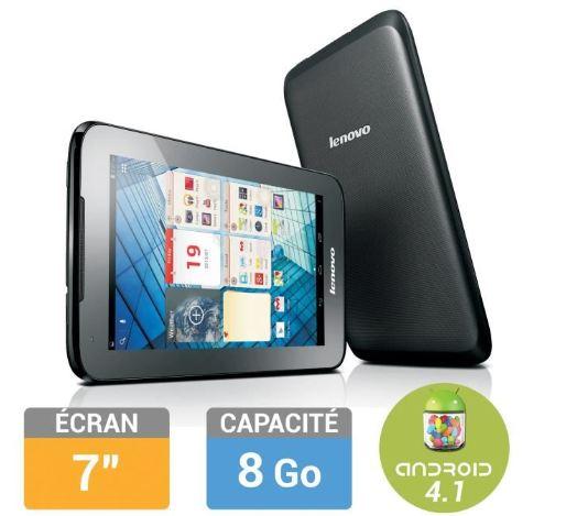 Tablette tactile Lenovo IdeaTab A1000L qui revient à moins de 40 euros