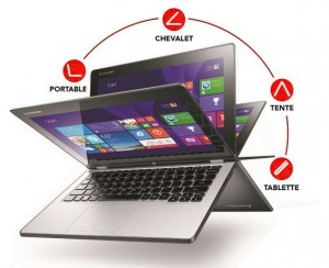 vente flash PC Hybride Lenovo Yoga 2 11 Touch