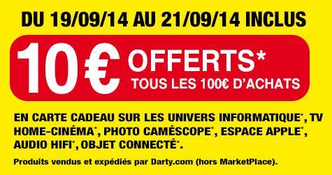 10 euros offerts tous les 100 euros