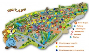 12 euros l'entrée au parc d'attractions Didi'Land