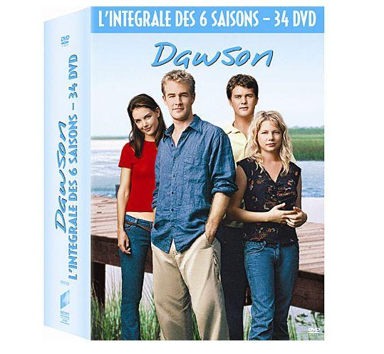 34 DVD de integral de la serie TV Dawson