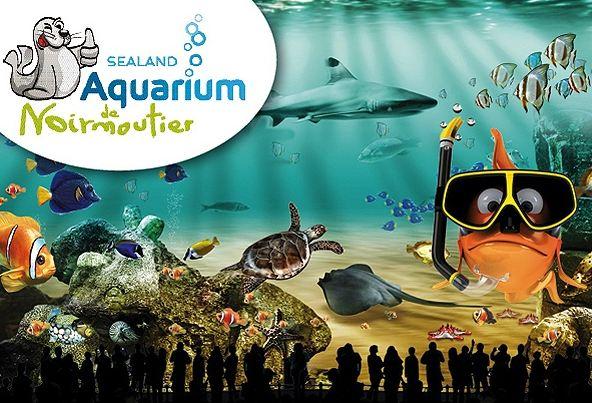 Aquarium Sealand de Noirmoutier pas cher