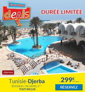 Carrefour Deals Club Marmara Tunisie 299 euros