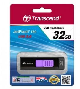 Clé USB 3.0 Transcend 32 Go JetFlash 760