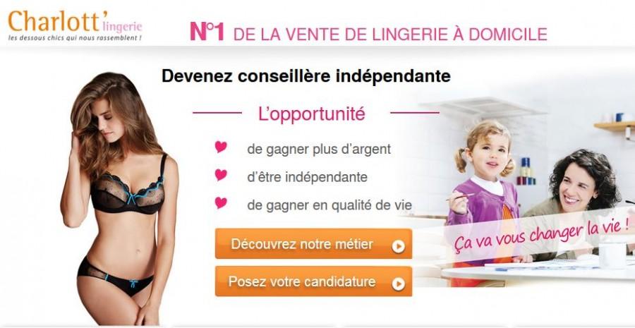 Complétez votre salaire grâce à la vente de lingerie à domicile