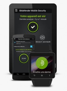 Gratuit : Bitdefender Mobile Security