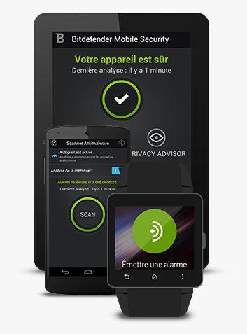 Gratuit : Bitdefender Mobile Security