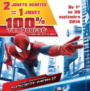 La seconde figurine Marvel 100 pourcent remboursé