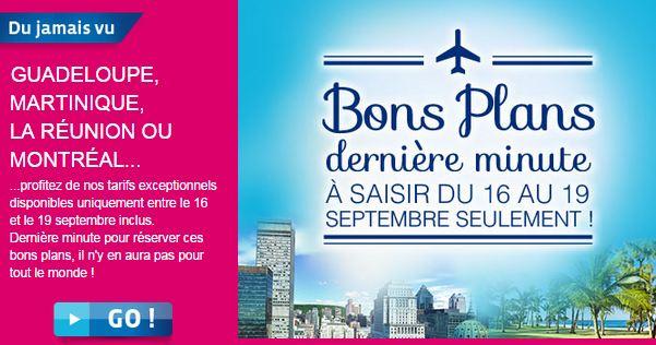 Paris-Guadeloupe ou Paris-Martinique