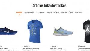 Soldes flottants Nike