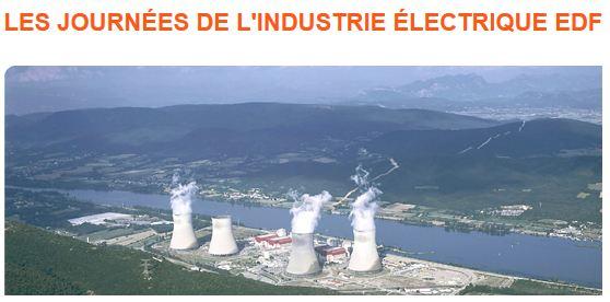 Visite gratuite des centrales EDF