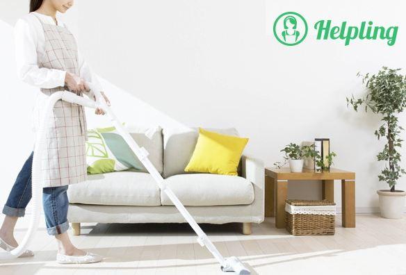 bon d'achat ménage à domicile Helpling