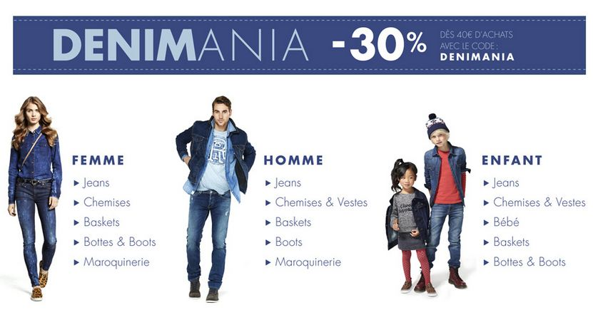 bon plan code promo Amazon DENIM