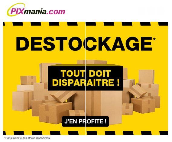 destockage Pixmania