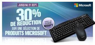 remise sur les accessoires Microsoft