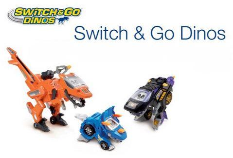 remise sur les jouets Switch and Go Dino de Vtech