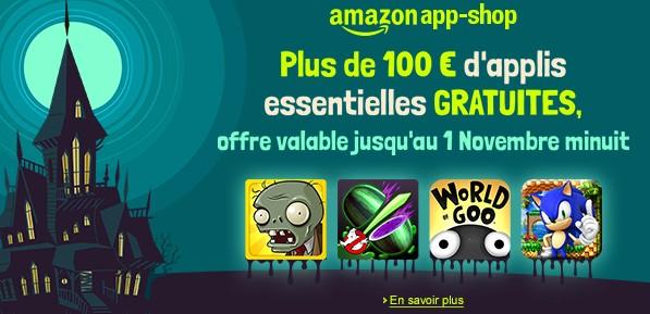 100 euros d'appli et jeux Android