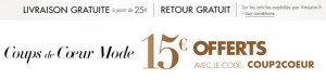 15 euros offerts Amazon