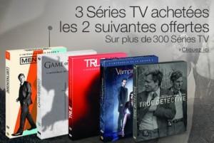 2 series TV gratuites pour l'achat de 3