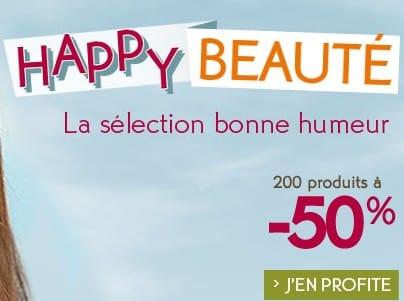 200 produits Yves Rocher à moitié prix