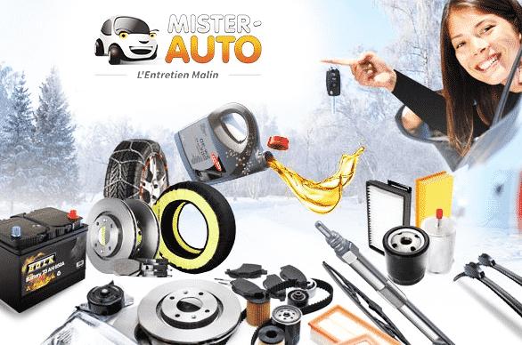Bon d'achat Mister Auto