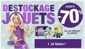Destockage jouets Auchan