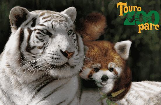 Entrée Parc zoologique Touroparc