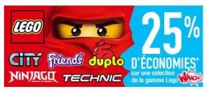 Lego bon plan Auchan