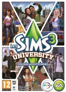Les Sims 3 University 15 euros