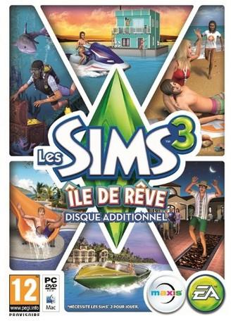 Les Sims 3 ile de Reve 15 euros