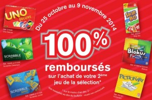 Offre remboursement Mattel Noel 2014