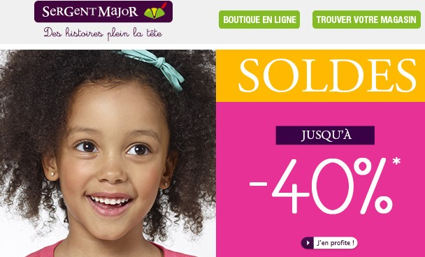 Soldes flottants Sergent Major