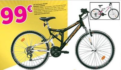 99 euros le vtt 26 pouces homme ou femme bikesport aventure g ant casino. Black Bedroom Furniture Sets. Home Design Ideas