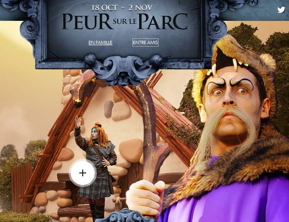 billet Peur sur le Parc Asterix