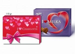 boite de chocolats Mika personnalisee