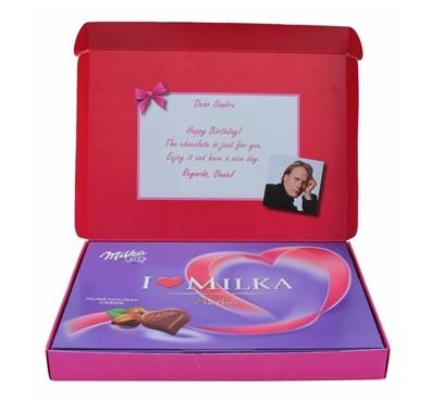coffrets Milka personnalisables