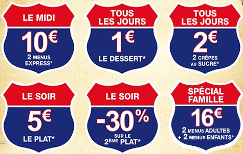 coupons de reduction a imprimer FLUNCH