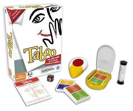 jeu de societe Taboo Hasbro pas cher