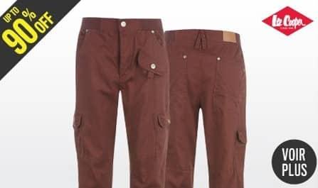 pantalons Lee Cooper pas chers