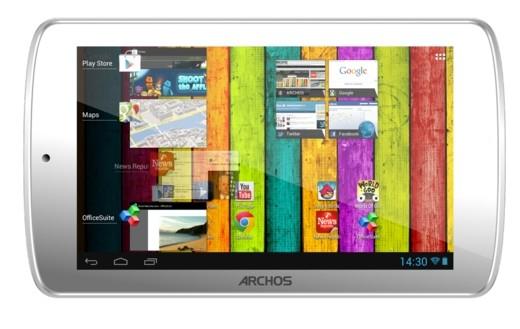 tablette Archos 70B Titanium a 59 euros