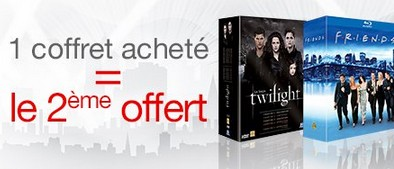 1 coffret DVD Blu-Ray offert pour 1 achete