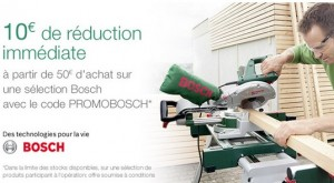 10 euros reduction BOSCH