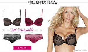 20 euros l'ensemble Wonderbra