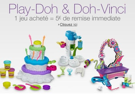 5 euros de remises immédiate Play-Doh