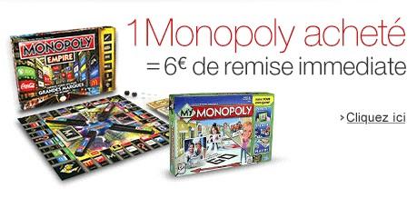 6 euros de remise immédiate sur Monopoly Empire ou My Monopoly