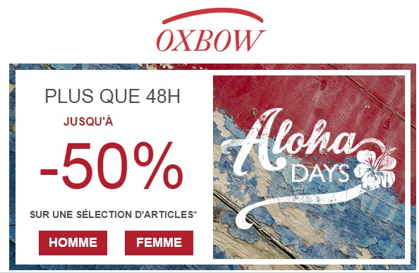 Aloha Days Oxbow