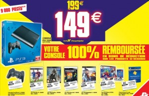 Black Friday Auchan Ps3 remboursee