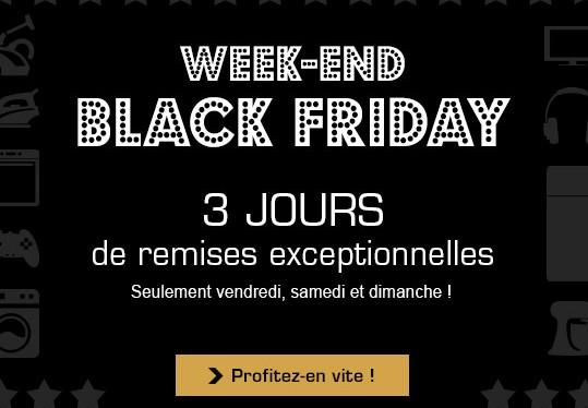 Black Friday Boulanger