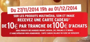 Black Friday Darty 10 euros offerts